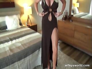 Wifey Gets Railed And Swallows Cumshot