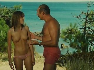 spiaggia, francese, nuda, orale, d'epoca