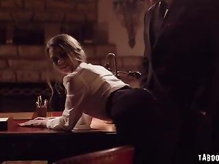 Submissive Secretary Rough Sex With Horny Boss