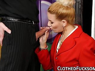 Blonde Euro Ho Cum Soaked