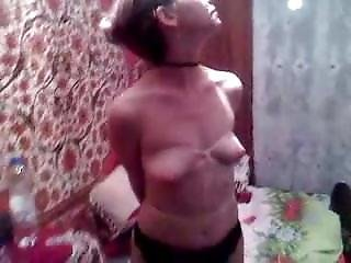 Tied Slavegirl On Display