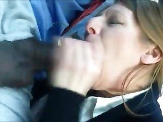 Milf Sucking On A Bbc In The Car