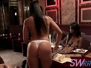 Swinger Couples Meet And Dine Before Having Raw Group Sex