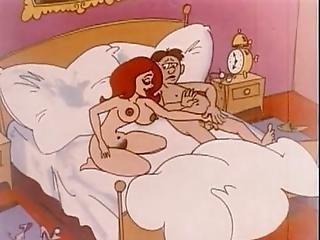 History Of Sex And Animated Love In A Vintage Animation Video