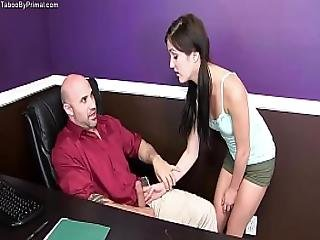 Renee Roulette- Movie Night With Daddy