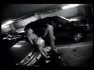 Interracial Fuck In Parking Garage After Party