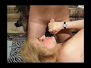 I Help Him Empty His Balls Onto My Face. Marcie From Dates25.com