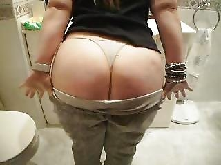 Amateur Wife Strip Best Ass Ever-gran Culona Casero