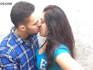 Kolkata Couple Selfie Kiss