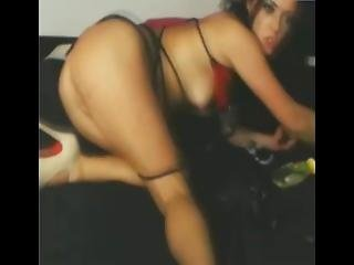 Busty Babe Widens Her Pussy - Add Her Snapcht Rubysuce