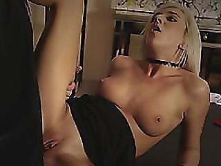 A Big Tit Blonde Teen Give A Horny Man A Specail Dessert After Dinner