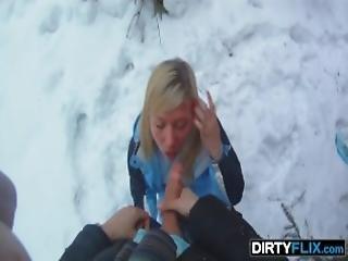βρώμικο, χιόνι