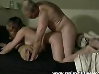 First Threesome My Milf With 22 Years Hung Boy