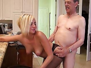 Blonde, Fucking, Hardcore, Old, Older Man, Teen, Young