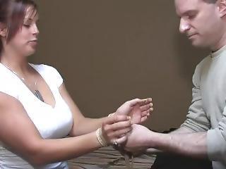 Bella Rose In Rope Handcuffs Tutorial