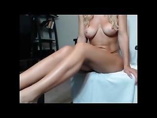 amatør, blond, sammensætning, ben, model, sexet, alene, lejetøj, webcam