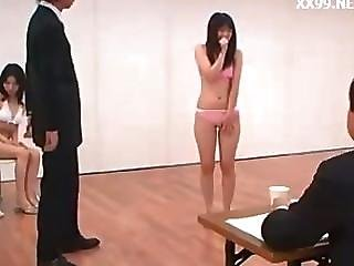 Mother And Daughter Cheating Fucked In Model Interview 02