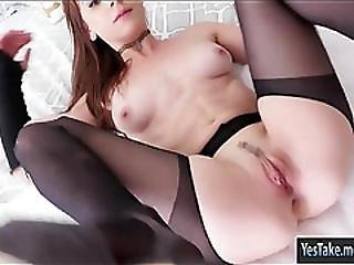 Naughty Amateur Gf Audrey Holiday Tries Out Anal Sex On Tape
