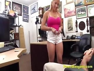 Big Titty Stripper Takes Huge Cock Up Her Cunt