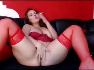 Eva36d Smoking And Masturbation