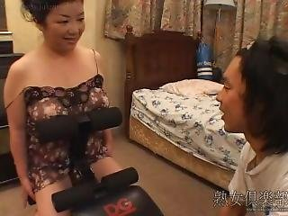 Japanese Mother And Son 2