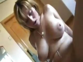 Big Tits Milf And Her Young Boy Lover