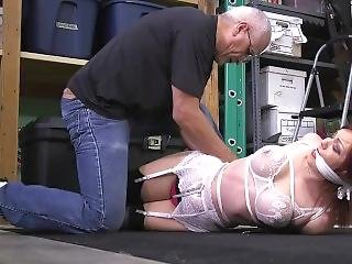Sarah Kidnnaped And Tied