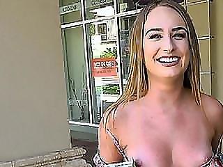 Smoking Hot Blonde Daisy Stone Fucks A Stranger For Cash