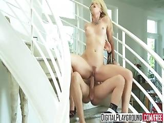 Digital Playground   Alexis Texas Sucks Cock And Gets Pounded On The Stair