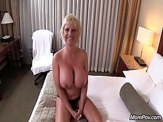 Oiled Up Blonde Mom Pov Big Tit Slut Ass Fucking Extravaganza