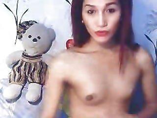 Anal, Asiática, Cú, Mulher Rapaz, Masturbação, Cona, Transexual, Tgirl, Transexual, Transexual, Cãmara Web