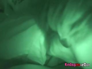 Horny Campers Saya Mallory And Bella Sex Nightvision