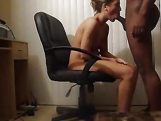 White Mistress Got Fucked By Black Lover