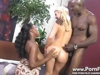 Black Couple Uses White Girl