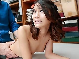 Shoplyfter - Asian Thief Caught And Fucked