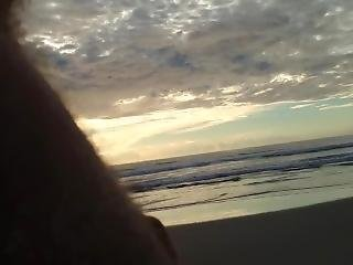 Public Erection Cfnm Beach Encounter Between Lady And Male Exhibitionist