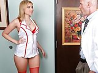 Stunning Natural-tit Blonde Teen Molly Bennett Fucks Her Doctor