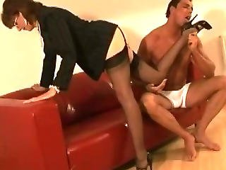 Stockinged Mature Femdom Hoe
