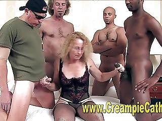 Amadores, Creme, Creampie, Gangbang, Interracial, Esposa