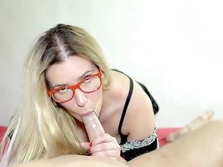 Slow Passionate Deepthroat Blowjob And Hard Doggystyle. Female Perspective
