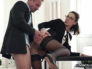 Hot Secretary Fuck