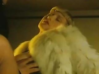 Woman In Fur Coat Fucked In Parking