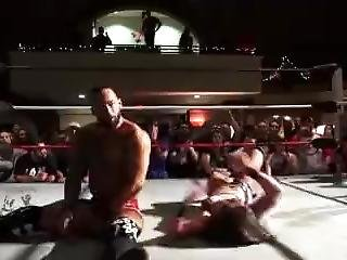 Tessa Puts Her Finishing Moves On Ricochet (highlight)