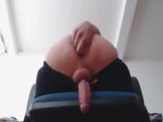 Hands free cum by little twink boy -- More