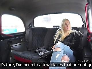 Fake Taxi Driver Offers Sexy Blonde Amateur Babe In His Vehicle Relaxing Massage Then In Back Seat Massages And Fucks Her Cunt Till Cums On Her In Public Spot