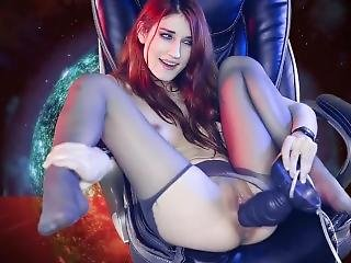 Fucking Big Alien Cock! (mass Effect Sex Parody)