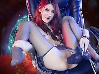 Fucking Big Alien Cock! (mass Effect Sex Parody)