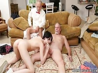 College Teens Fucking With Strap On And Hairy Pussy Anal Frannkie Goes