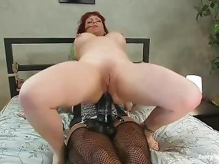Lesbians Big Strapon And Dildo