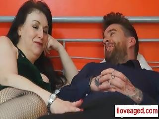 Sabrina Jade Is Way Older Than Luke Hotrod, Who He Wants To Have Sex Experience With Her Too She Is A Big Tittied Older Woman, Who Will Pleasure His Cock, And Cums On Her Gigantic Boobs